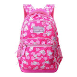 KNAPSA Elementary School Backpack The Store Bags Rose Red