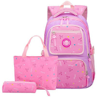 MADY Elementary School Backpack The Store Bags Purple Pink