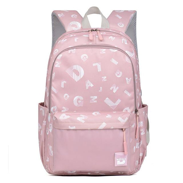 JANSY Elementary School Backpack The Store Bags light purple