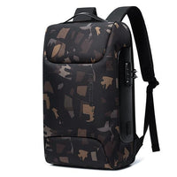 BG Business USB Backpack The Store Bags Camouflage CHINA 15 Inches