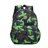 SPORK Camouflage Kindergarten Backpack The Store Bags Green