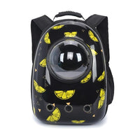 CANA Cartoon Pet Carrier Backpack The Store Bags Black
