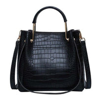 PU Leather Tote Bag The Store Bags Black