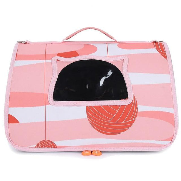 FAROOT Deluxe Pet Carrier The Store Bags Pink L
