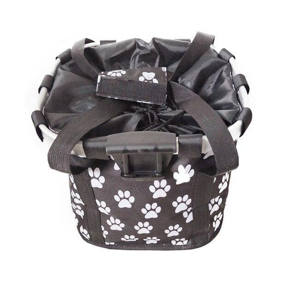 WOOFY Pet Bicycle Carrier The Store Bags Black Paw