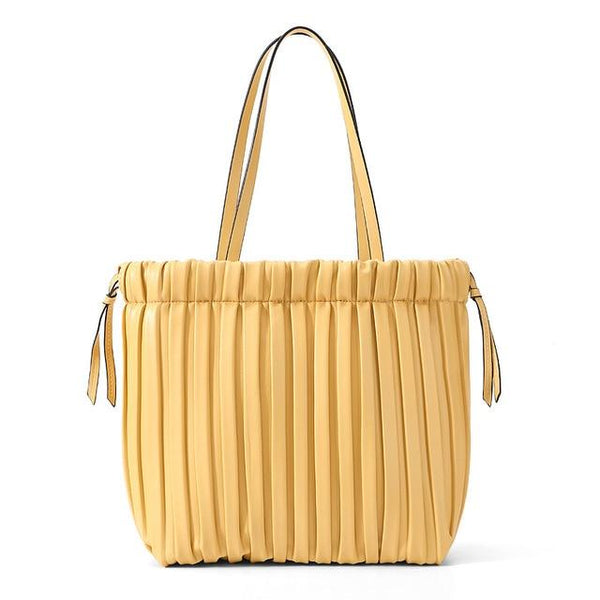 Small Leather Tote Handbag The Store Bags Yellow