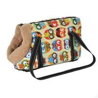 WOOFY HAPPY Pet Carrier The Store Bags with fur 3 S 40 x 18 x 20 CM