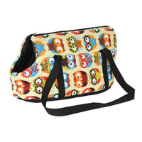 WOOFY HAPPY Pet Carrier The Store Bags without fur 3 S 40 x 18 x 20 CM