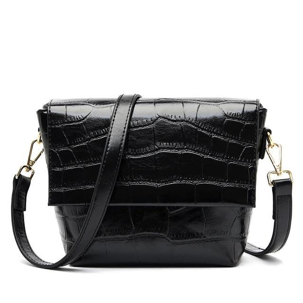 ACIA LYSA Genuine Leather Bag The Store Bags Black
