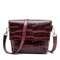 ACIA LYSA Genuine Leather Bag The Store Bags Wine Red