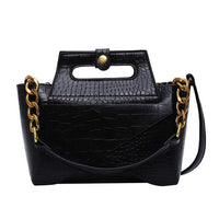Chain Handle Handbag The Store Bags Black