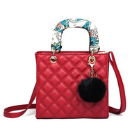 Small Quilted Crossbody Bag The Store Bags Red