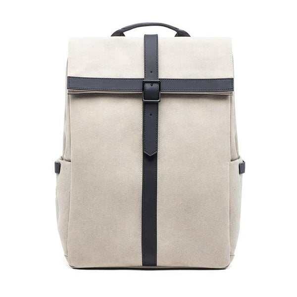 90FUN British Style Backpack The Store Bags White
