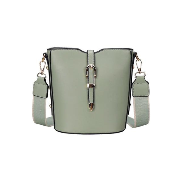 FEMA Faux Leather Crossbody Bag The Store Bags Green