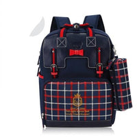 Kids Waterproof Backpack TSB The Store Bags Navy blue