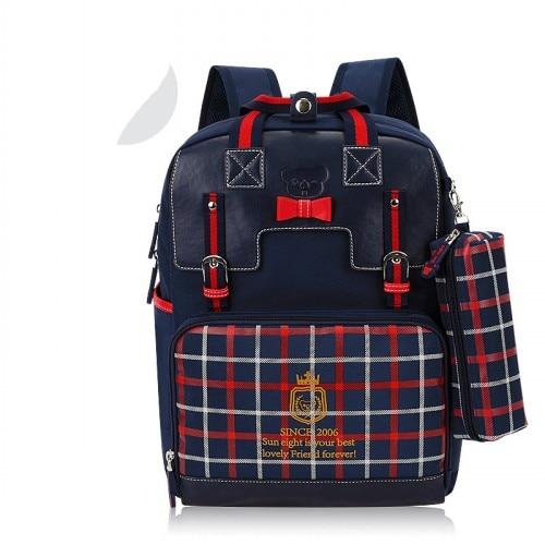 TSB School Backpack For Boys & Girls The Store Bags Navy blue