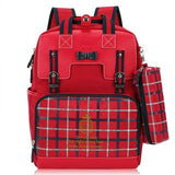 Kids Waterproof Backpack TSB The Store Bags Red