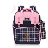 Kids Waterproof Backpack TSB The Store Bags Pink