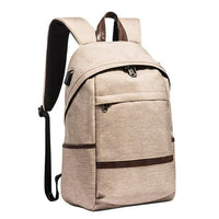 MEILUN College Student Backpack The Store Bags Beige Yellow