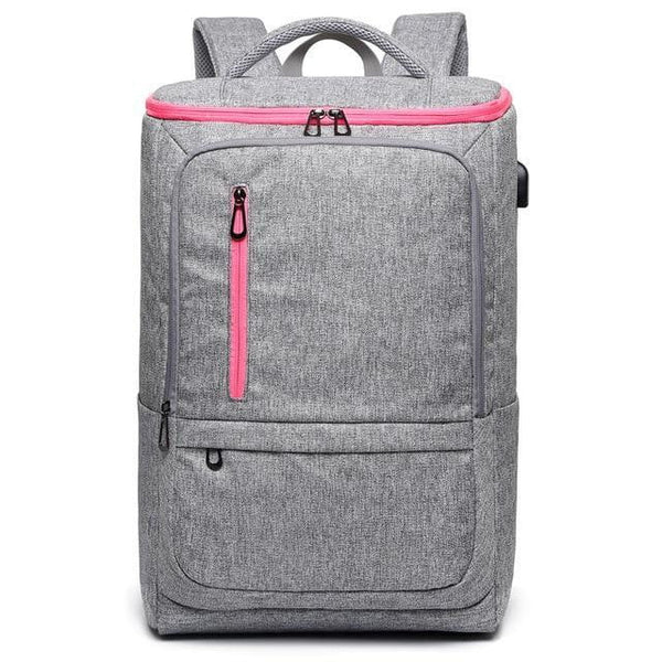 TSB Small Travel Backpack - Gray - The Store Bags