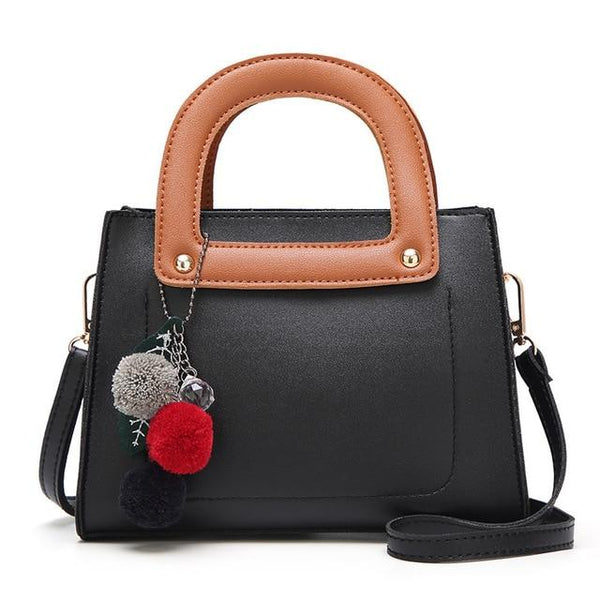 Fashion PU Leather Handbag The Store Bags Black