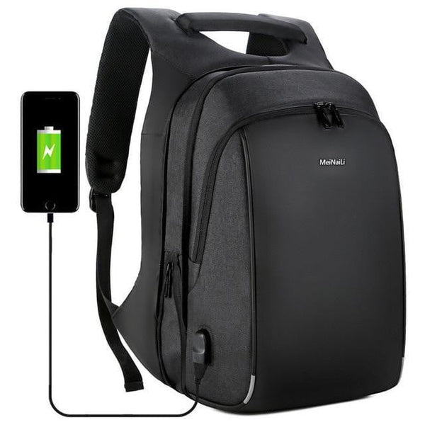 MEINALI Men's Business Backpack - Black - The Store Bags