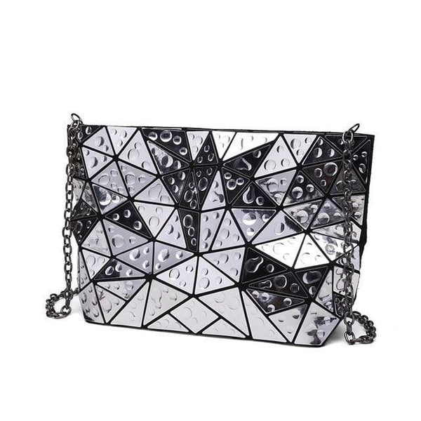 Holographic Shoulder Bag TSB - Silver - The Store Bags