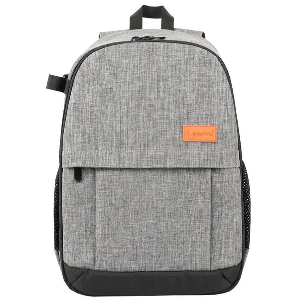 TSB Camera Backpack DSLR - Grey with Orange - The Store Bags