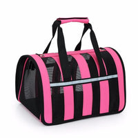 Fashion Pet Carrier The Store Bags Rose L
