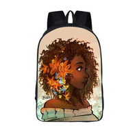 TSB Afro Backpack The Store Bags Flower