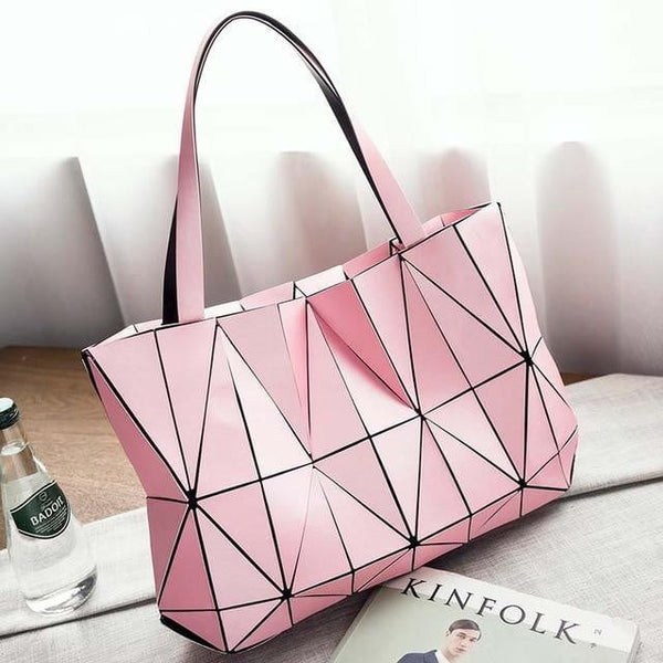 TSB Geometric Women's Shoulder Bag - Pink - The Store Bags