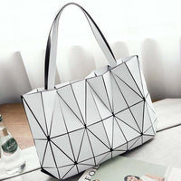 TSB Geometric Women's Shoulder Bag - White - The Store Bags