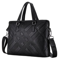 TSB Men's Business Briefcase - Black - The Store Bags