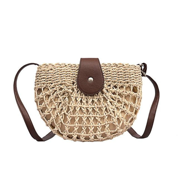 TSB Women's Casual Straw Bag The Store Bags Beige