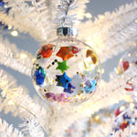Rainbow Lucky Star Christmas Ornament