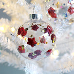 Red Lucky Star Christmas Ornament