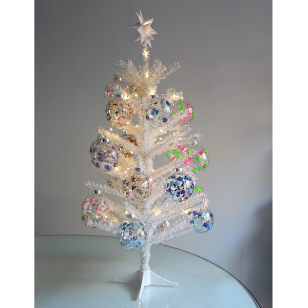 Blue Lucky Star Christmas Ornament