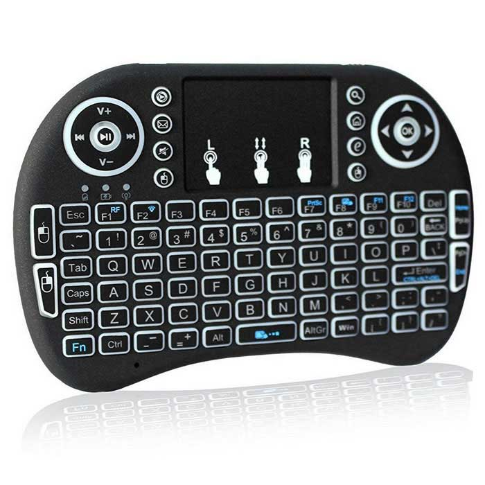 Mini Backlit Wireless Keyboard