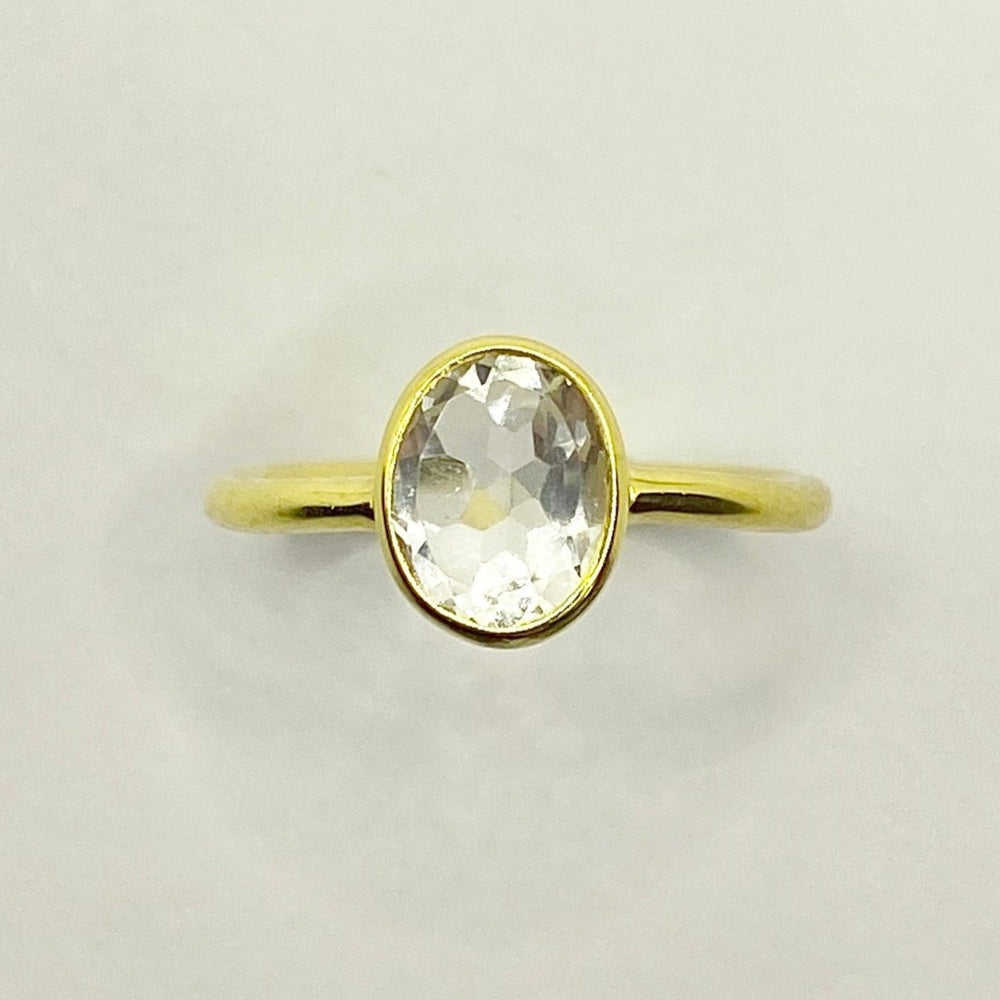 Melody Quartz Ring - Size 6