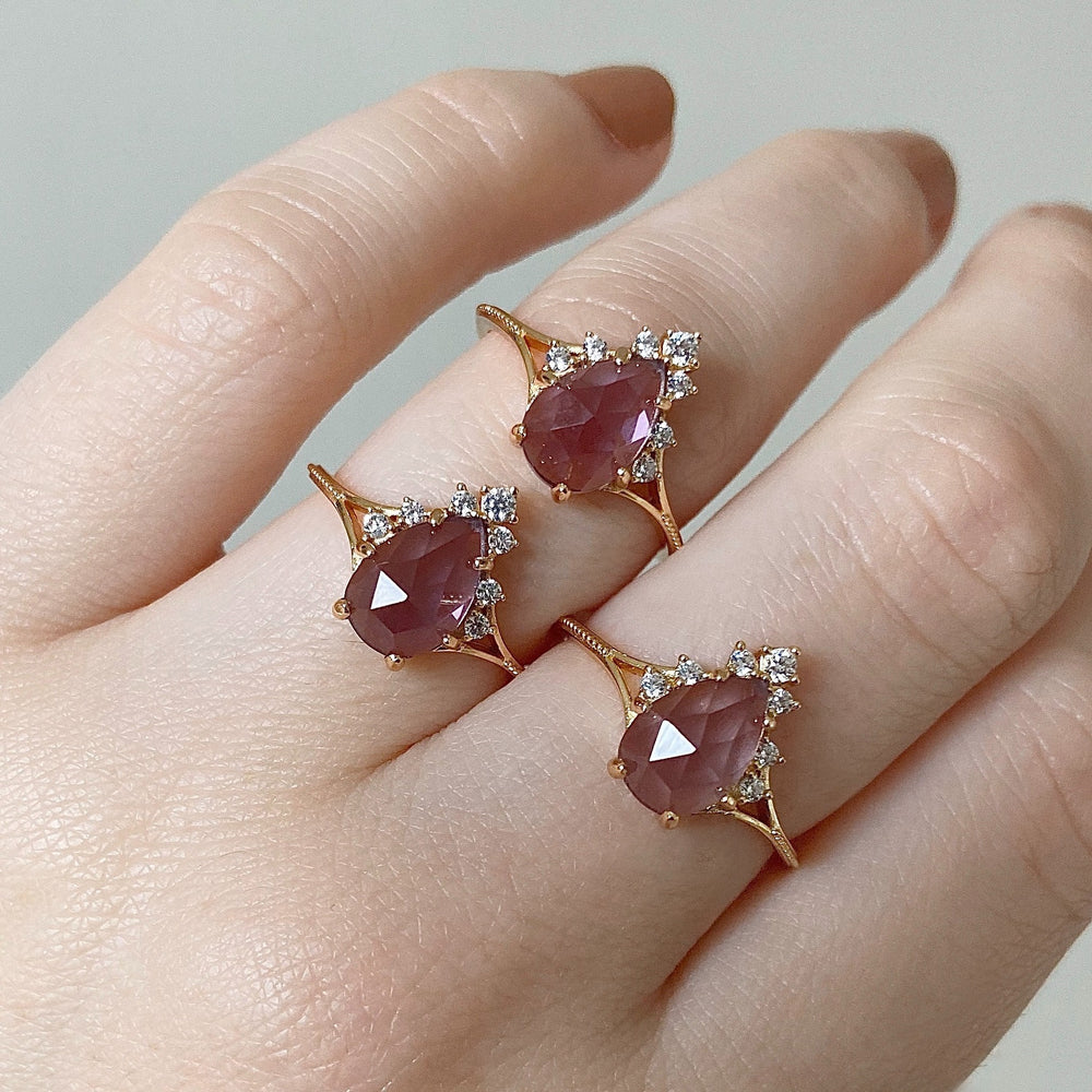 Load image into Gallery viewer, Aurelia Amethyst Ring