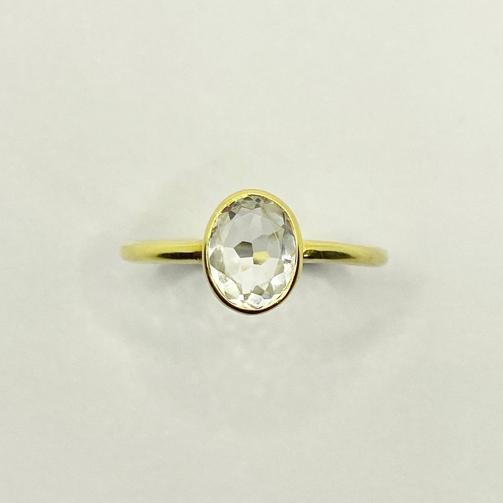 Load image into Gallery viewer, Melody Quartz Ring - Size 7