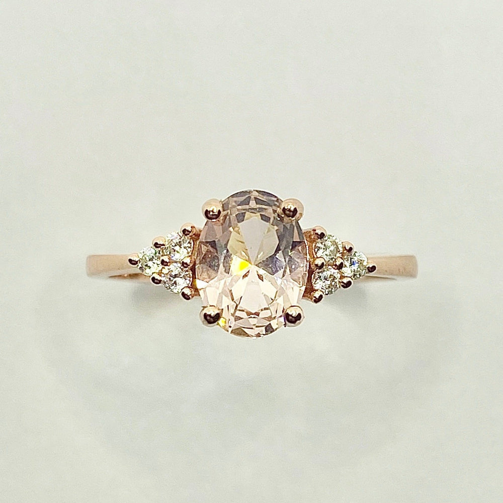 Harper Morganite Ring