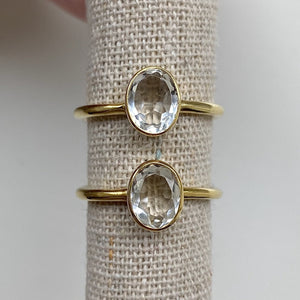 Load image into Gallery viewer, Melody Quartz Ring - Size 6