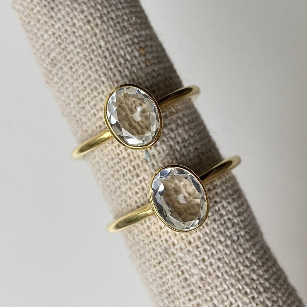Melody Quartz Ring - Size 8