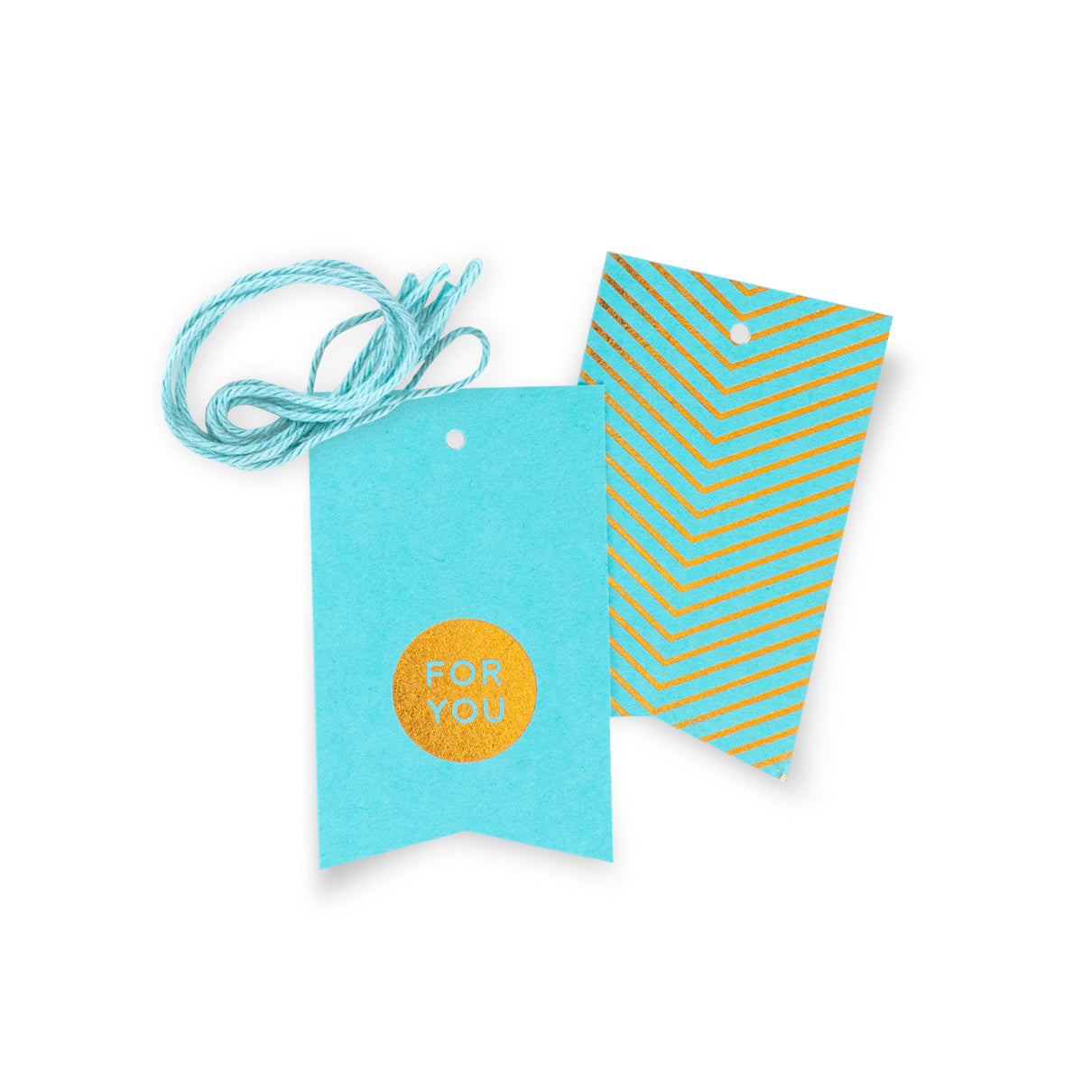 For You Gift Tags – Blue