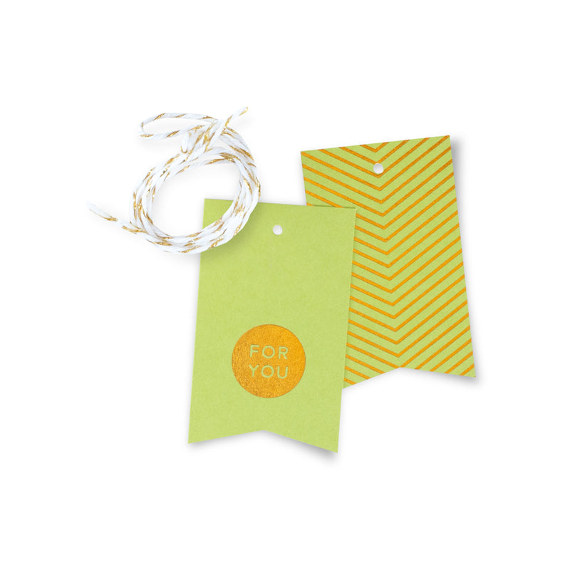For You Gift Tags – Lime