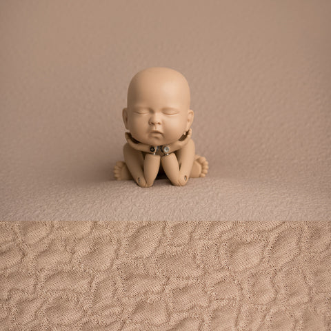 Newborn Fabric Backdrop - Addison - Tan