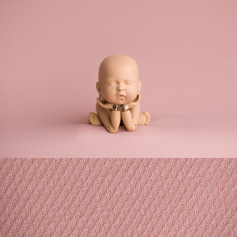 Newborn Fabric Backdrop - Eddie - Antique Pink