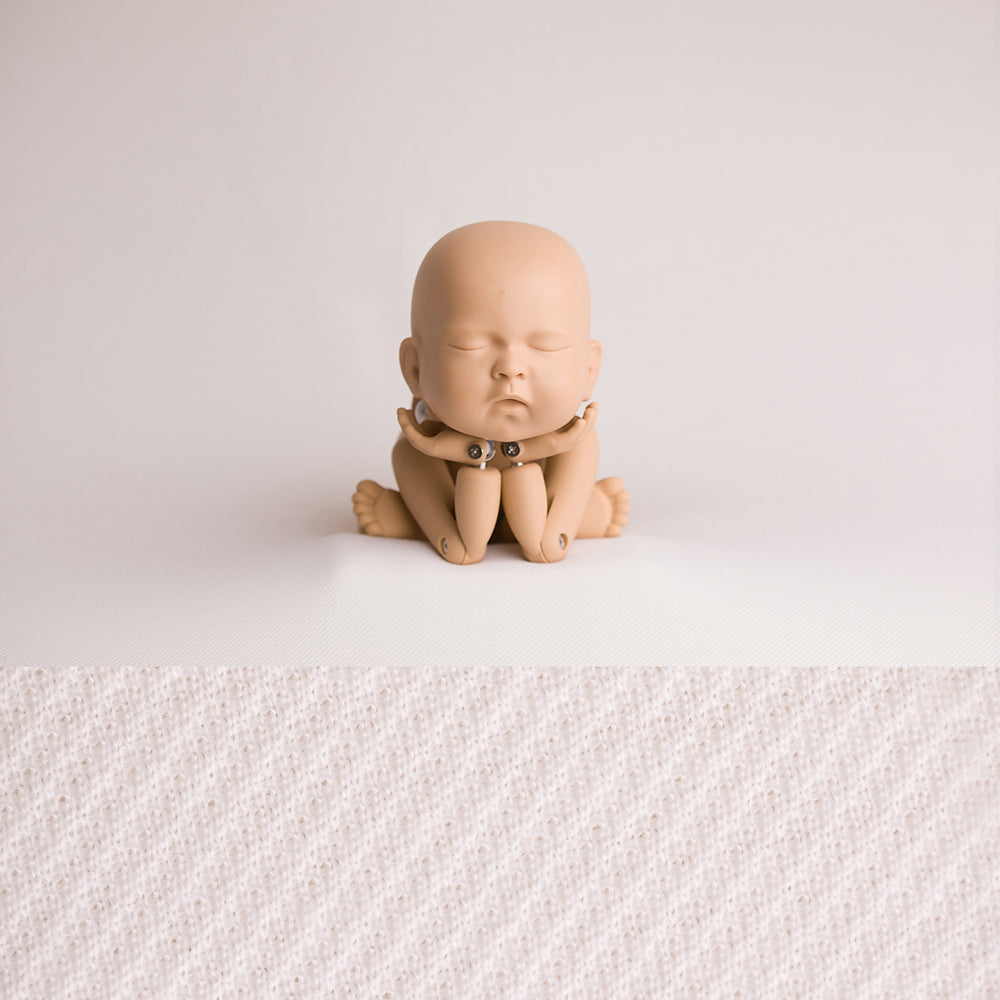 Newborn Fabric Backdrop - Eddie - Off White
