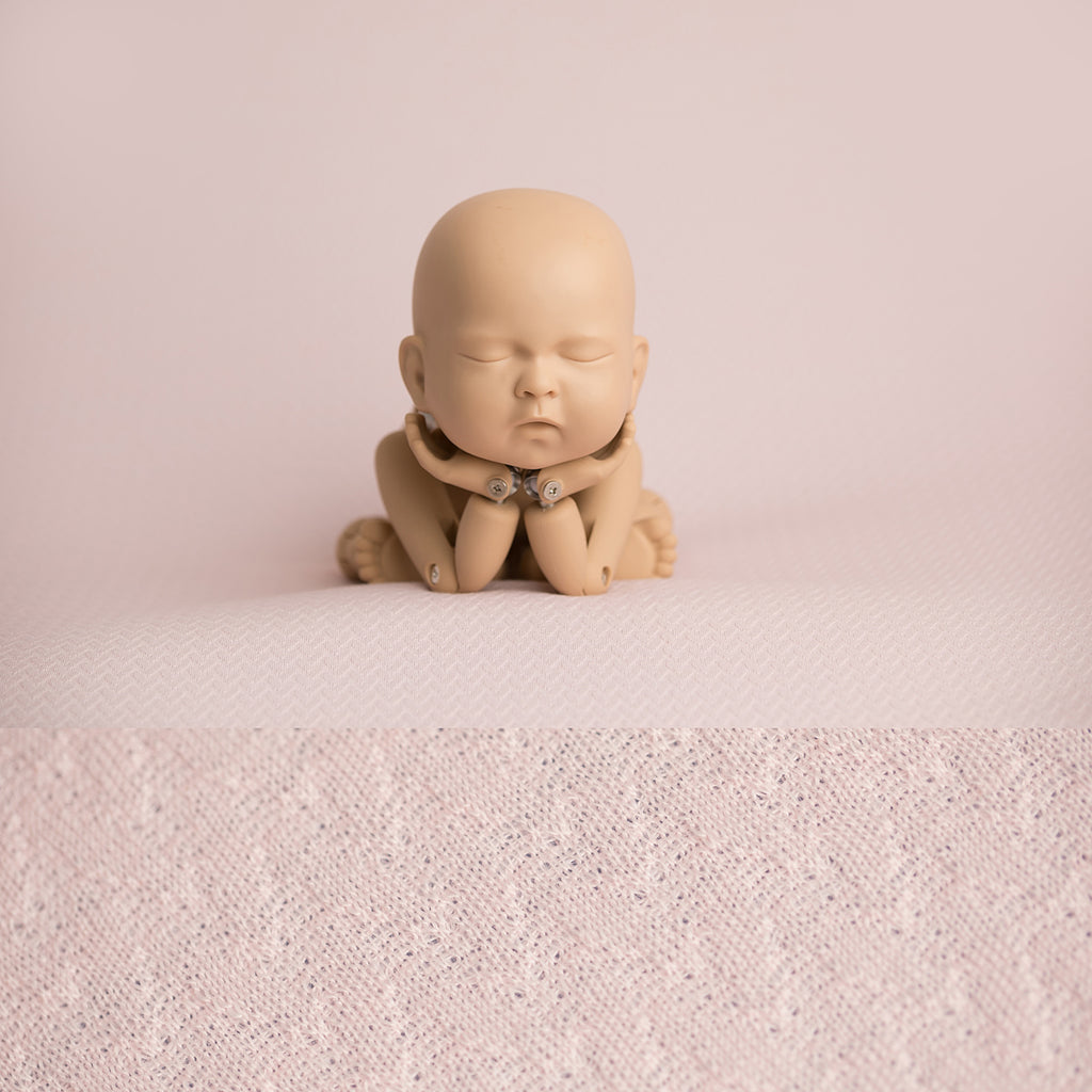 Fabric Backdrop - London - Pale Pink